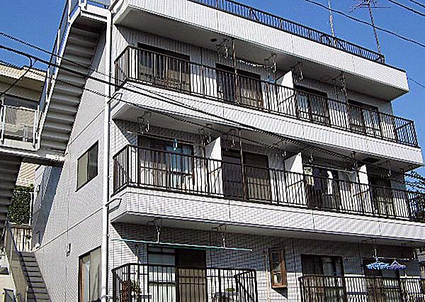 瀬田4丁目マンション外観写真