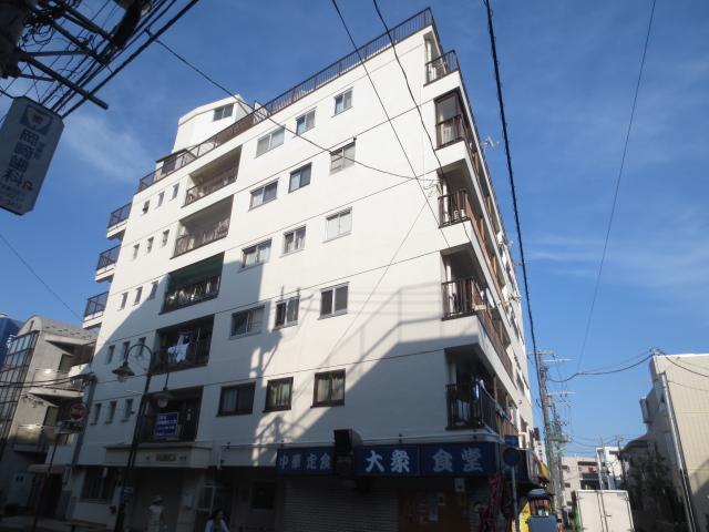 上野毛マンション外観写真