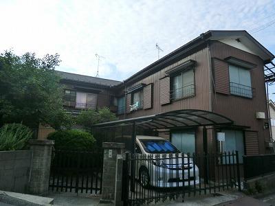 川島アパート外観写真