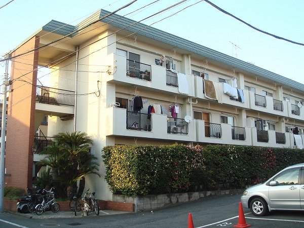 駒沢グリーンハウスB外観写真