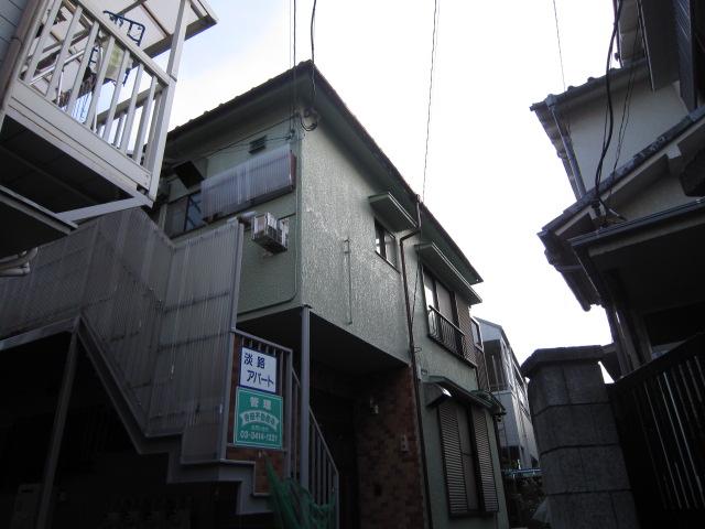 淡路アパート外観写真