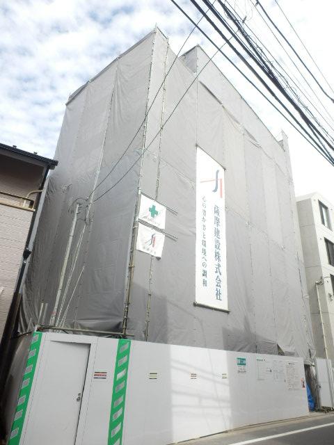 仮)南蒲田共同住宅新築工事外観写真