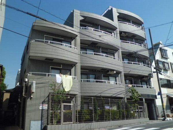 ビュートピネ早稲田外観写真