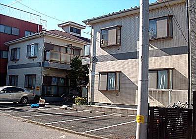 ガーデンハウスお花茶屋2号棟外観写真
