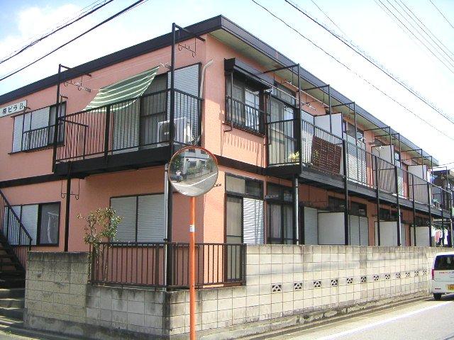 桜ビラB棟外観写真