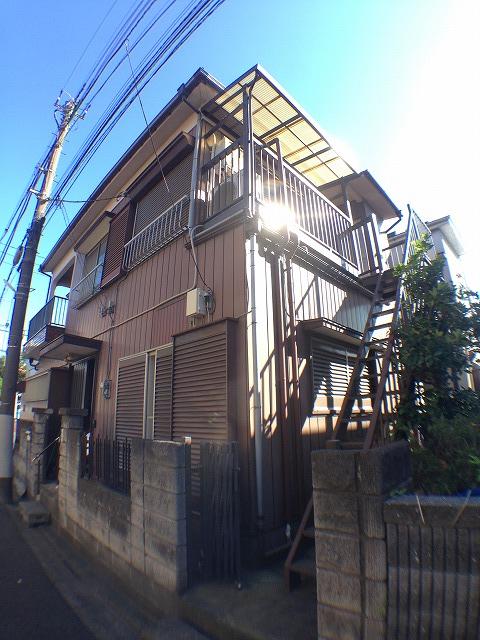 松村アパート外観写真