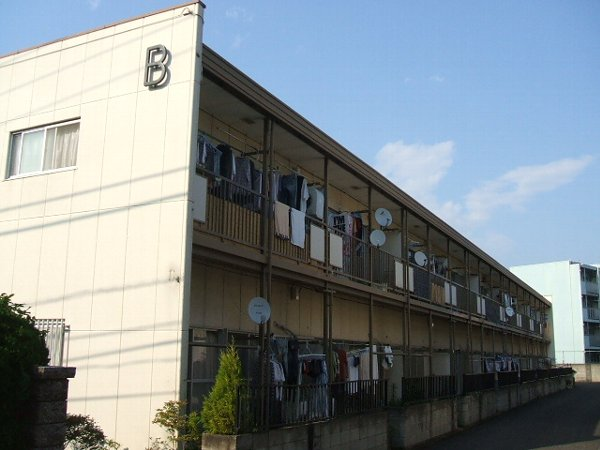 冨岡コーポB棟外観写真