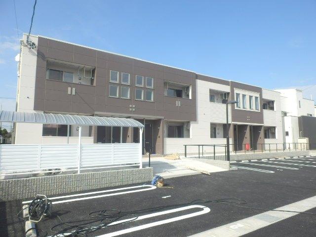 SRM高塚町新築アパート外観写真