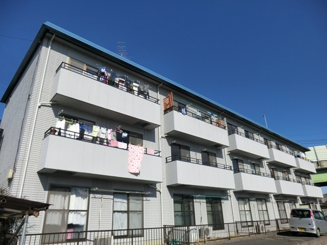 尾山台マンション外観写真