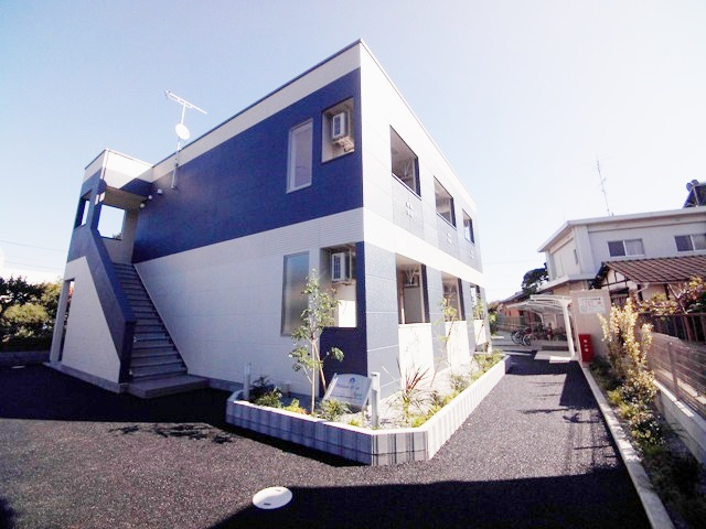 (仮)上尾市中妻シェルル新築アパート外観写真