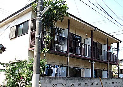 第二三菱荘外観写真