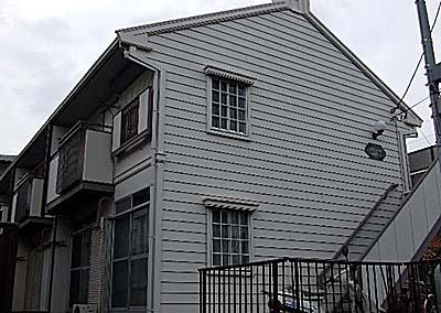 フラワーハイツA棟外観写真