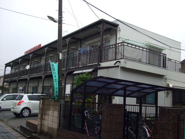 勝田フラワーマンション外観写真