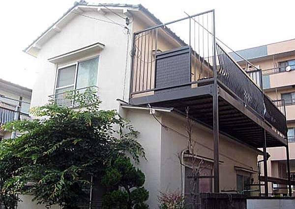 中島アパート外観写真