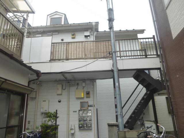 関原アパート外観写真