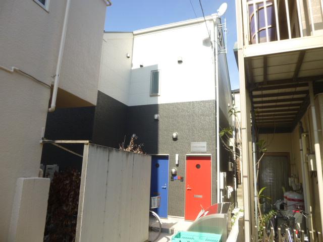 JTテラスハウス谷在家外観写真