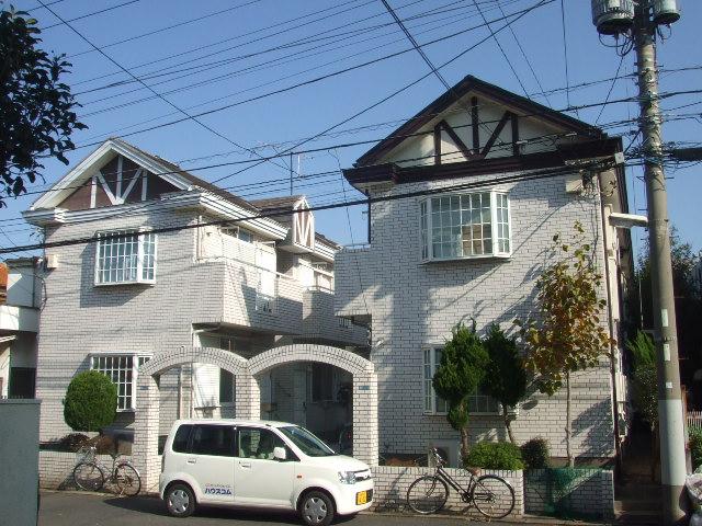 ローズアパートQ43番館外観写真