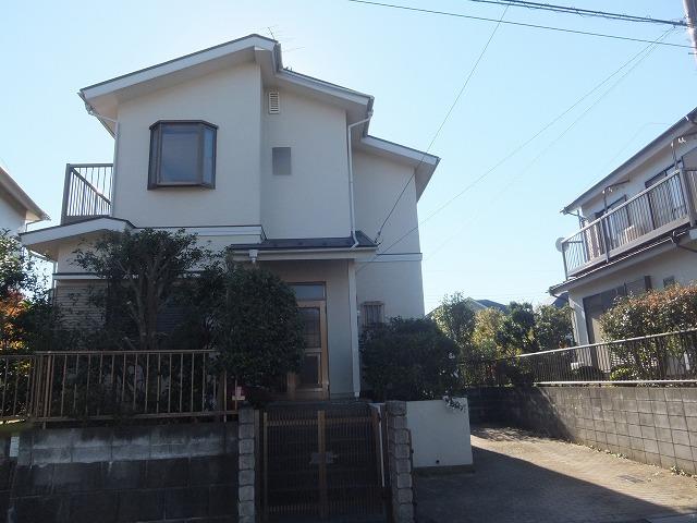 松沢住宅B棟外観写真