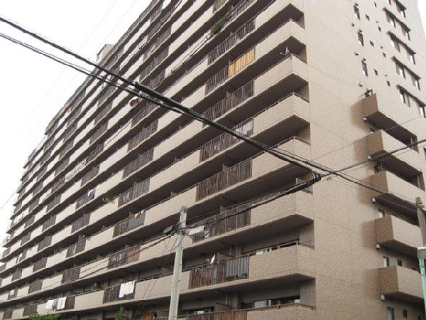 鳥見パークマンション三番街 南棟外観写真