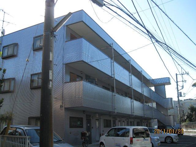 フローラKIKU E棟外観写真
