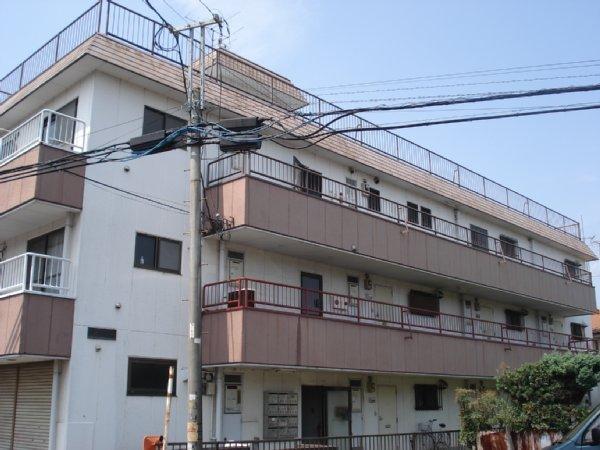 川島ハイツA棟外観写真