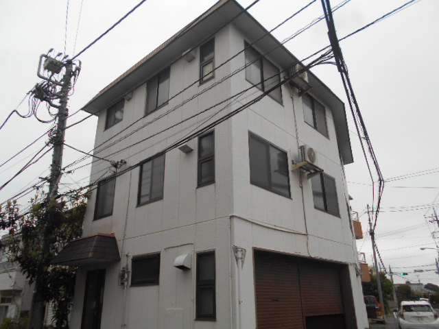川島ハイツB棟外観写真