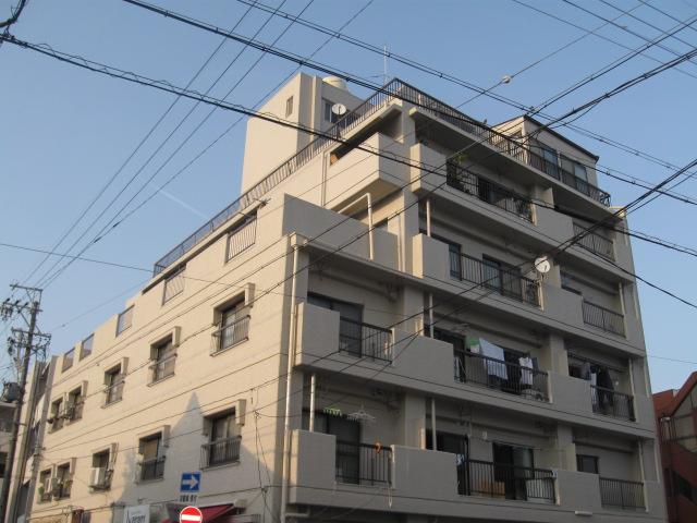 青山マンション外観写真