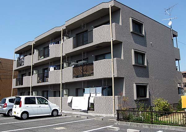 山田ハイツマンション外観写真