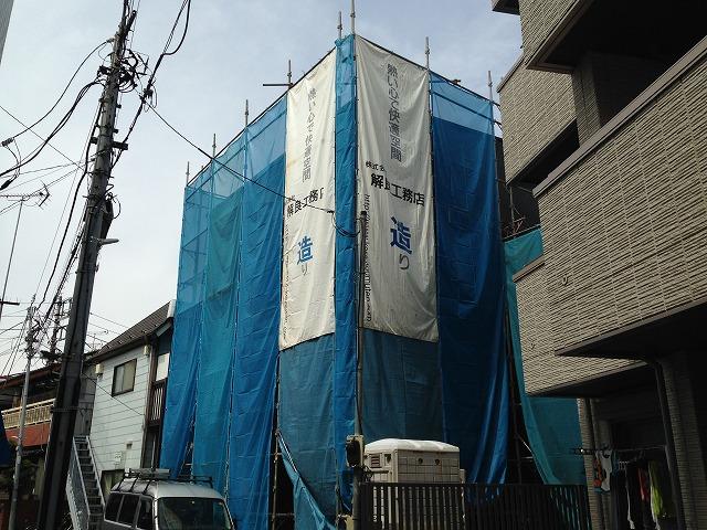 (仮)千住寿町新築アパート外観写真