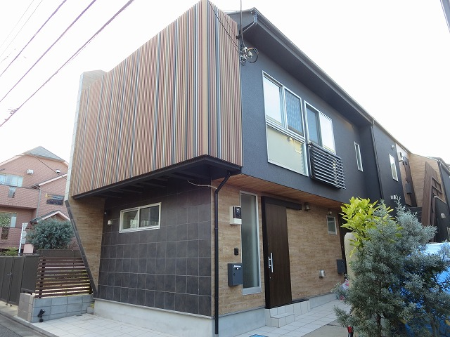 THE House目黒南外観写真