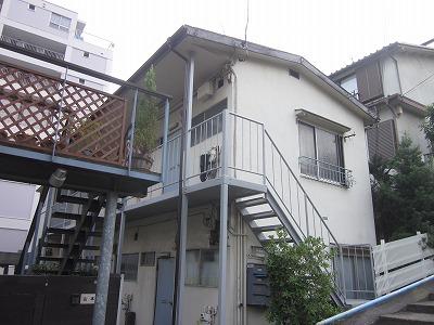津田アパート外観写真