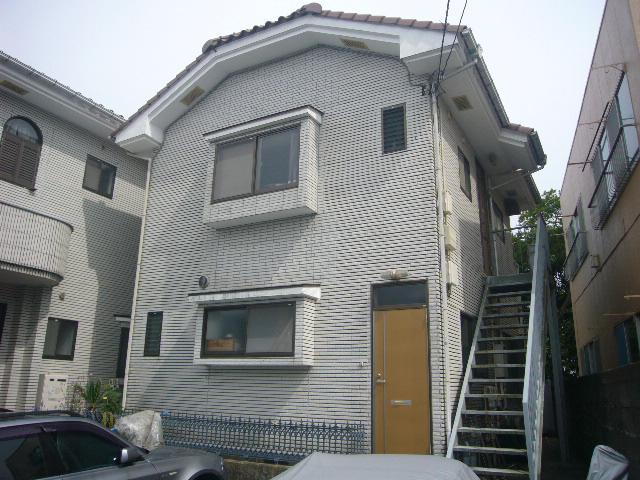 高野アパート外観写真