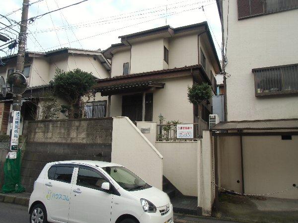 横須賀鶴が丘貸家外観写真