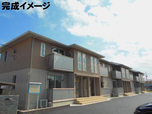 (仮)D-room矢作町外観写真