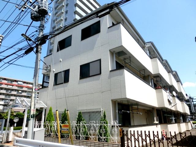 シャルマン谷塚駅前外観写真
