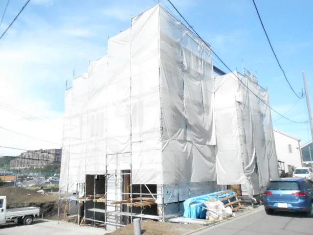 仮)新築貸テラスハウス外観写真