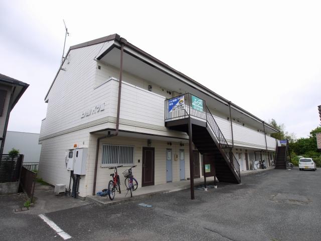 上ノ山ハイツ3棟外観写真