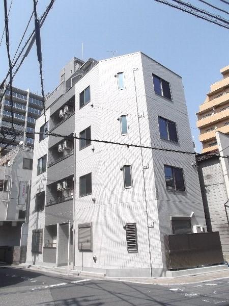 小菅4丁目ビル新築工事外観写真