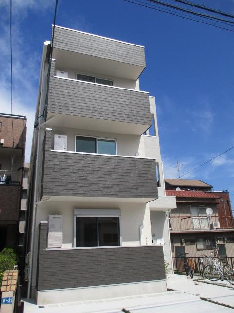 仮称)駈上一丁目新築アパート外観写真