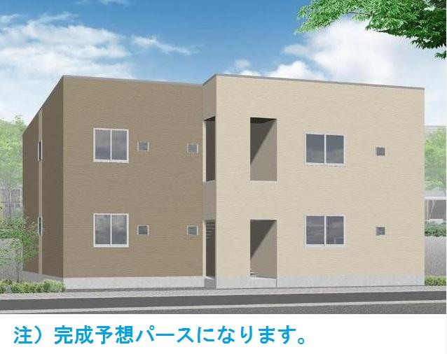 仮)須惠町アパート外観写真