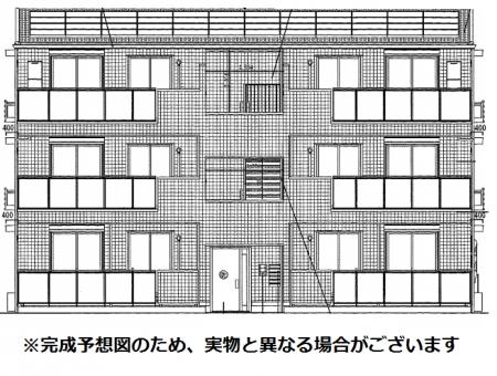 (仮)D-room片峰外観写真