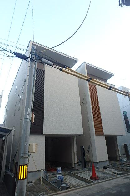徳川園の家プラスガレージ外観写真