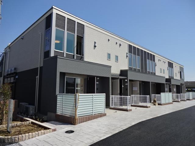 (仮称)平太夫新田新築アパート外観写真