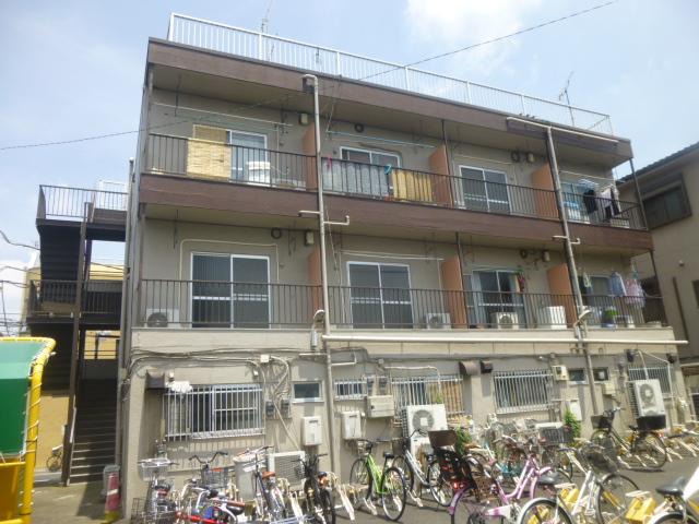 西竹の塚マンション外観写真