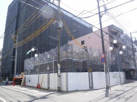 仮称)緑町プロジェクト新築工事外観写真