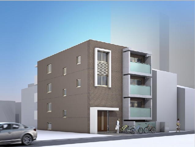 (仮)Residence西小路小米町外観写真