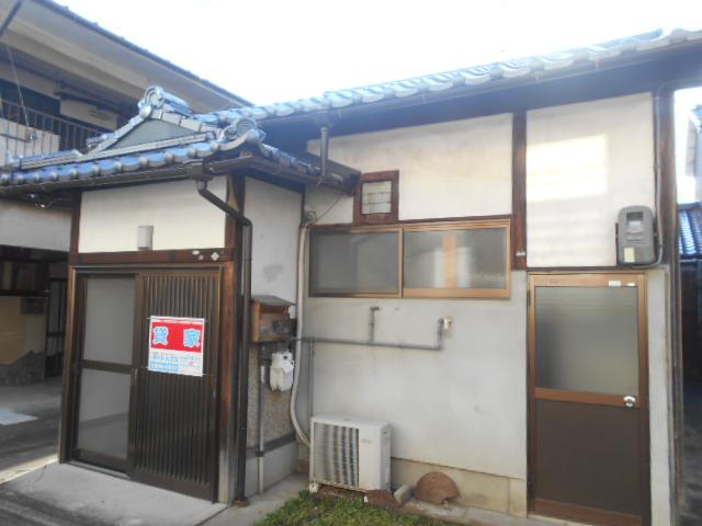 太秦安井東裏町平屋外観写真