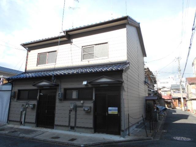 西院西田町連棟貸家(東側)外観写真