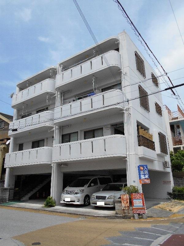 新里共同住宅外観写真