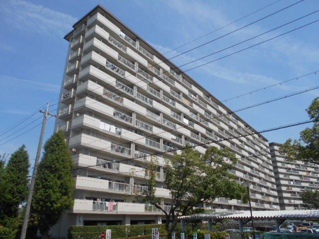 島田橋住宅2号棟外観写真